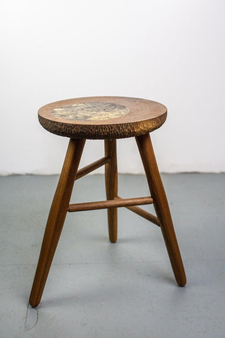 Michael Rozell Studio Bar or Guitar Stool, USA, 2020 In Excellent Condition For Sale In Berlin, DE