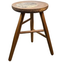Michael Rozell Studio Bar or Guitar Stool, USA, 2020