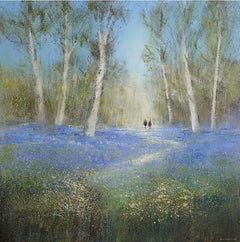 Michael Sanders, Bluebell Woods Large, Archival Print