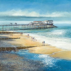 Michael Sanders, Sunday Afternoon, Cromer, Limited Edition Canvas Print