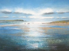 Daymer Bay, Michael Sanders, Affordable Art, Contemporary Seascape Print