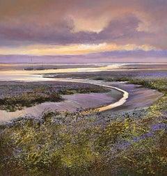 Duck at Morston, Large Canvas Print, Affordable Art, Art for sale, Landscape