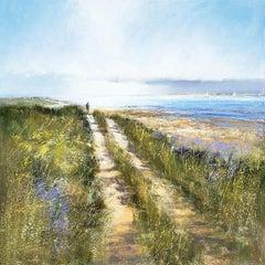 Michael Sanders, From Blakeney, Large Canvas Print, Seascape Art, Affordable Art