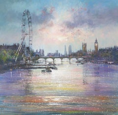 London Eye - Large canvas print, London