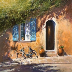 Michael Sansers, Bicyclette, Large Canvas Print, Affordable Art, Art Online