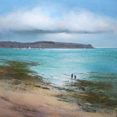 Rockpools, St Mawes BY MICHAEL SANDERS, Limited Edition Seascape Print, Sea Art