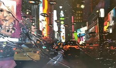 Broadway Splash - NYC CITY  landscape painting