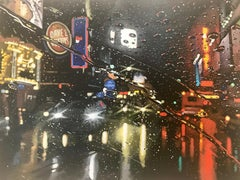Dark City original NYC CITY  landscape painting