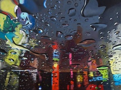 I Never Made Any Promises-original NYC LANDSCAPE contemporary oil painting