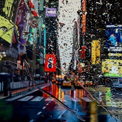 Joy-original NYC Contemporary city landscape oil painting 21st Century