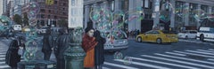 Mr Clean, Mr Clean. NYC  Cityscape oil painting Contemporary modern Art