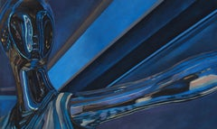 Name of Love III - original figurative painting contemporary modern art