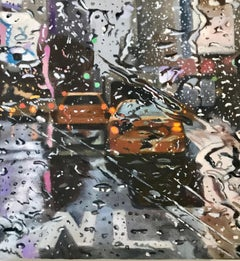 Only in NewYork - NYC city oil landscape painting contemporary modern art