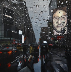 Powerful - New York Cityscape oil painting Contemporary modern Art