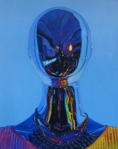 Shine On - original oil figurative painting contemporary modern art