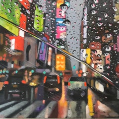 The Colors of NewYork - NYC city oil landscape painting contemporary modern art