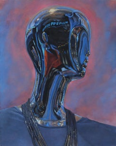 The Light Comes III - original figurative painting contemporary modern art 21st