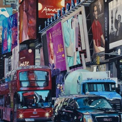 Xanadu - New York Cityscape oil painting Contemporary modern Art