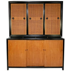 Michael Taylor Baker Furniture New World Collection Two-Piece Credenza Cabinet