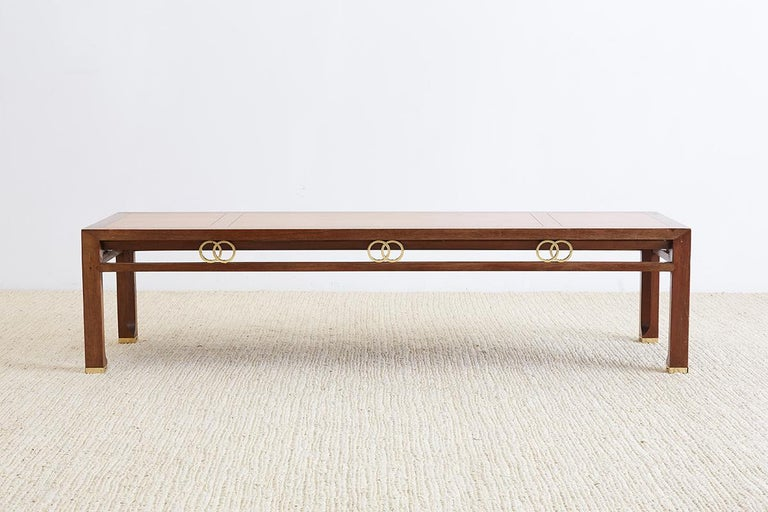 Michael Taylor for Baker Far East Coffee Table For Sale 2
