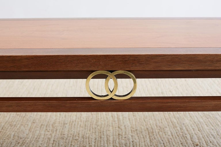 American Michael Taylor for Baker Far East Coffee Table For Sale