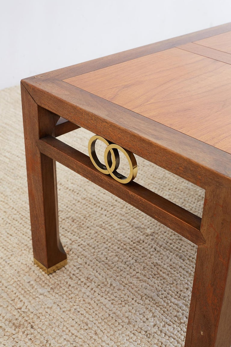 Hand-Crafted Michael Taylor for Baker Far East Coffee Table For Sale