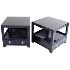 Michael Taylor for Baker Far East Collection End Tables