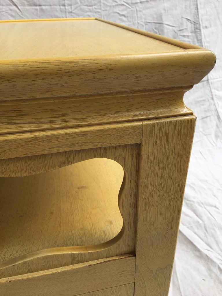 Mahogany Michael Taylor for Baker Furniture