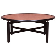 Michael Taylor for Baker Furniture New World Collection Cocktail Table, Restored
