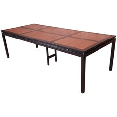 Michael Taylor for Baker Furniture New World Collection Dining Table, Restored