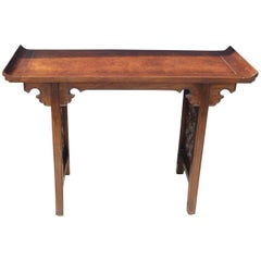 Michael Taylor for Baker Hollywood Regency Altar/Console Table