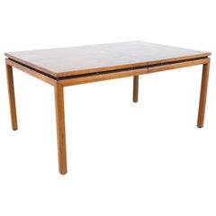 Michael Taylor for Baker New World Collection Mid Century Expanding Dining Table