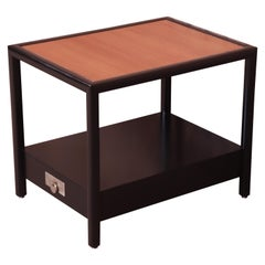 Michael Taylor for Baker New World Collection Side Table, Newly Restored