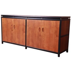 Michael Taylor for Baker New World Collection Sideboard Credenza, Newly Restored