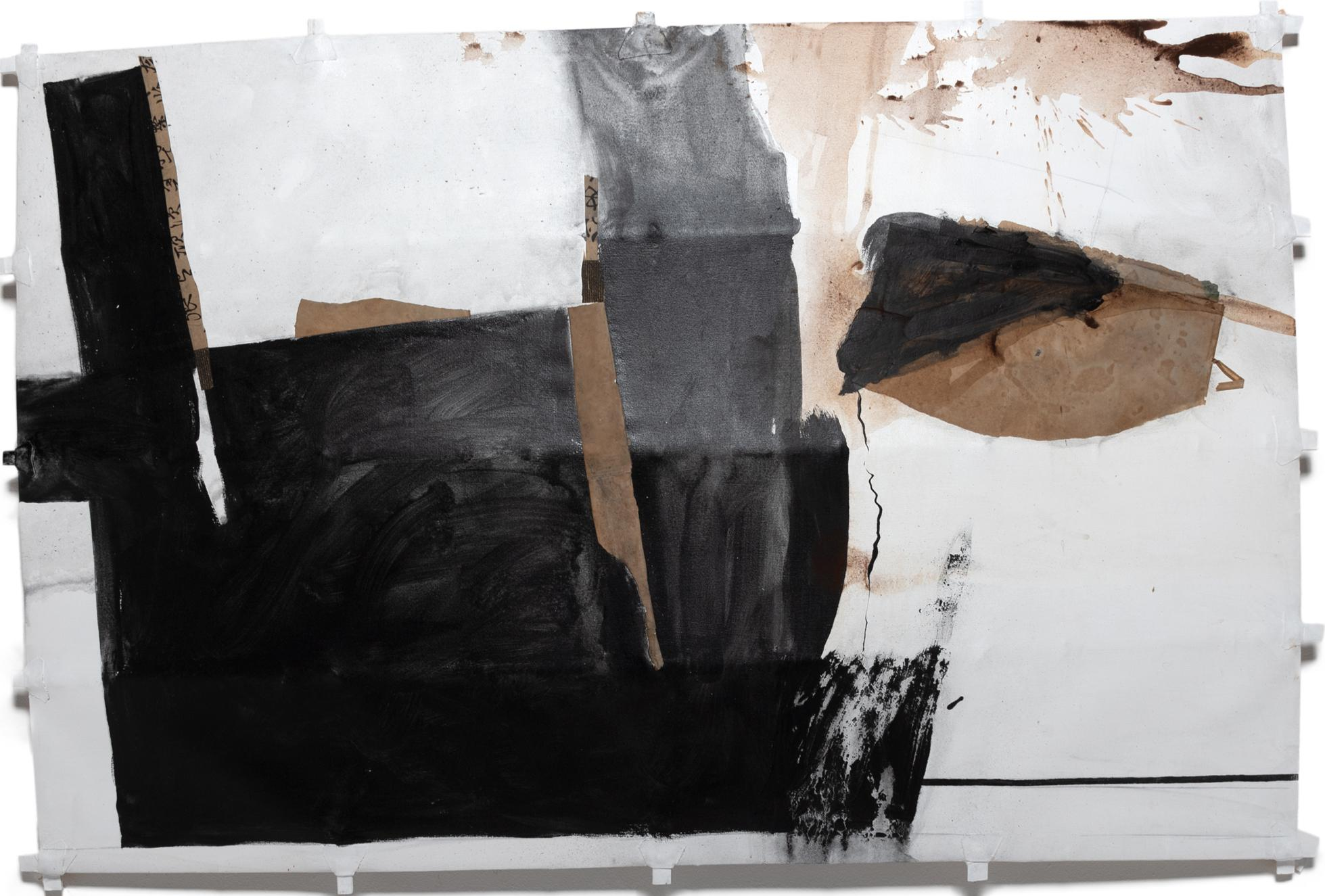 Composition in Black and Brown