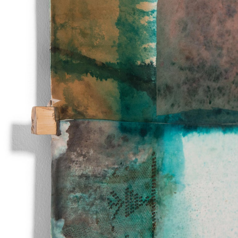 Patina - Brown Abstract Drawing by Michael Thompson Photographer