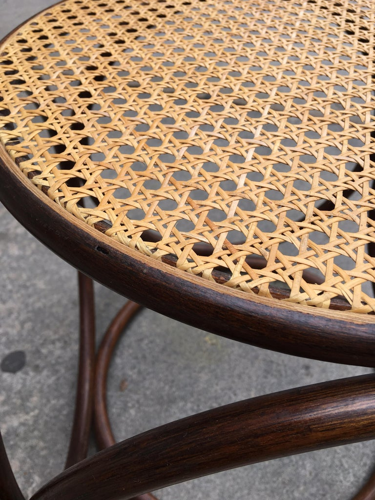 Michael Thonet Caned Ottoman In Good Condition For Sale In Philadelphia, PA