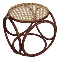 Michael Thonet Stool Ottoman Side Table