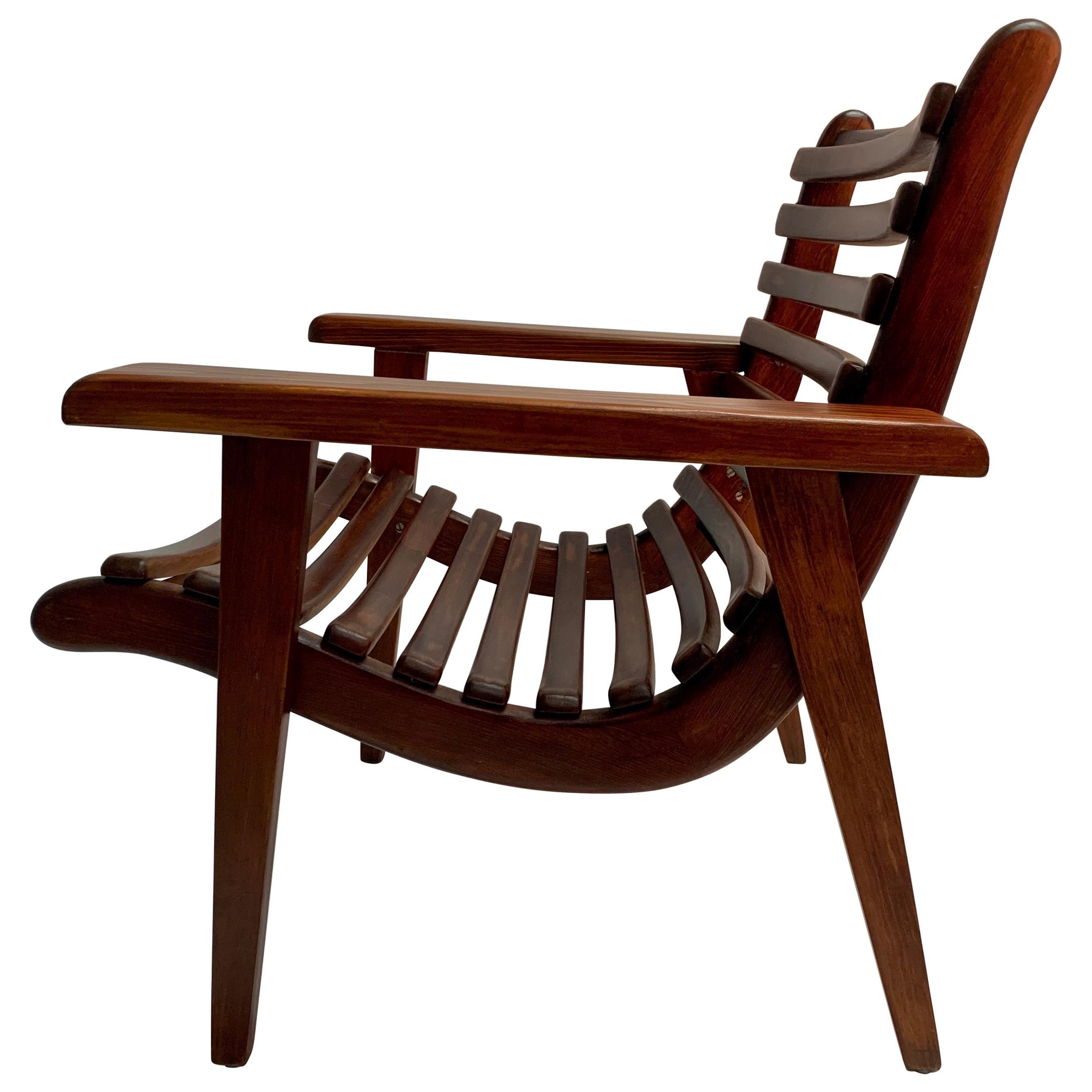 """Michael van Beuren Original """"San Miguelito"""" Armchair for Domus"""
