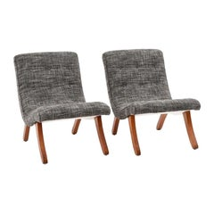 Michael van Beuren Pair of Mexican Mid-Century Modern San Miguelito Easy Chairs