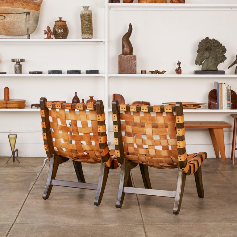 """Stained Michael van Beuren """"San Miguelito"""" Chair For Sale"""