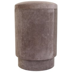 Michael Verheyden Belgian Design Contemporary Pouf or Tabou with Storage