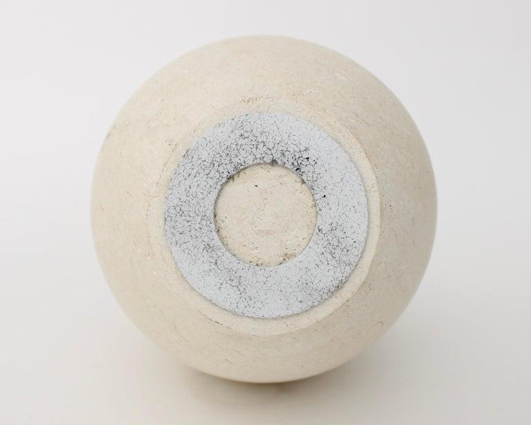 Michael Verheyden Mandorla Solifeur Pietra di Vincenza Marble Vase For Sale 1