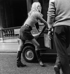 Mini Car Mini Skirt (1966) - Silver Gelatin Fibre Print