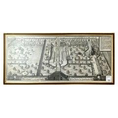 Michael Wening '1645-1718' Neue Erbaute Frescada Und Laufen, Copperplate