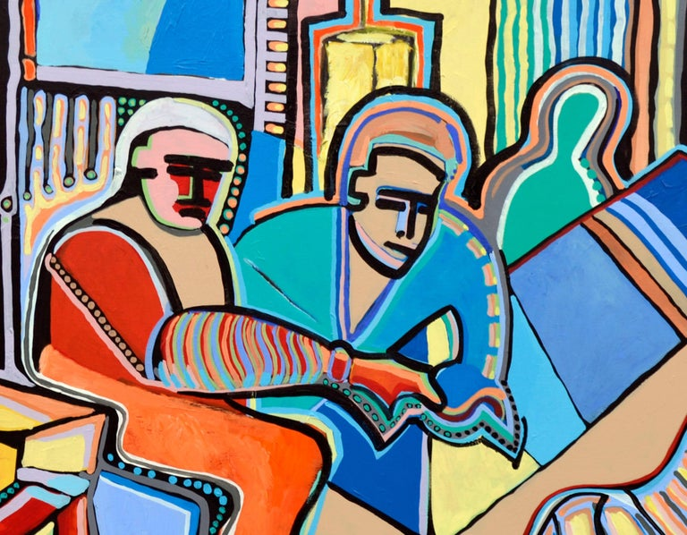 Modernist Abstract Musicians For Sale 1