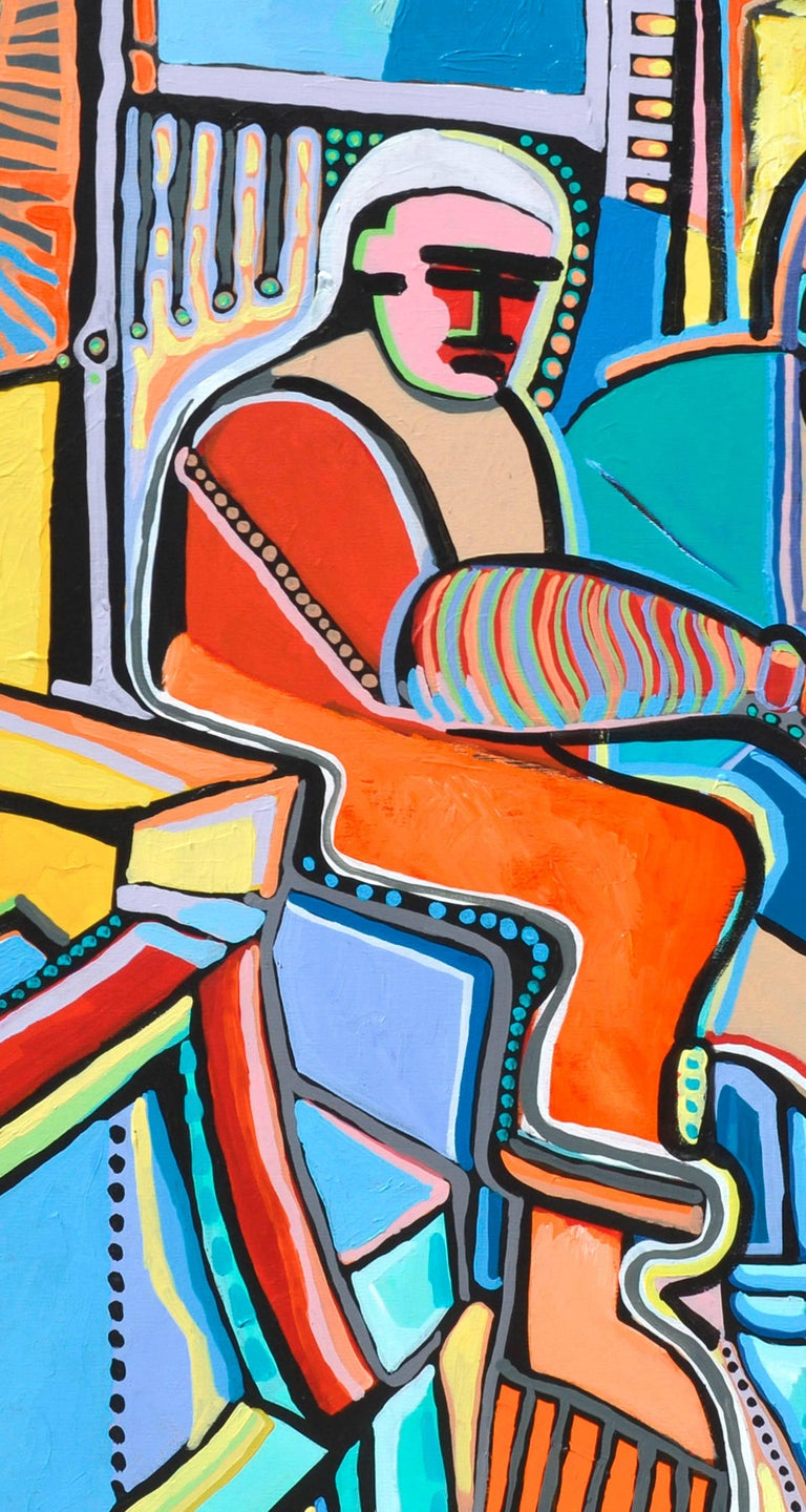 Modernist Abstract Musicians For Sale 2