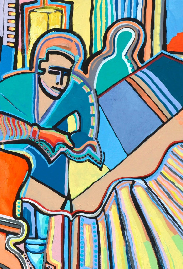 Modernist Abstract Musicians For Sale 3