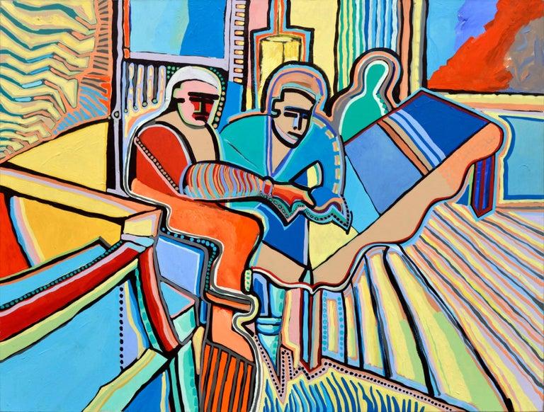 Modernist Abstract Musicians