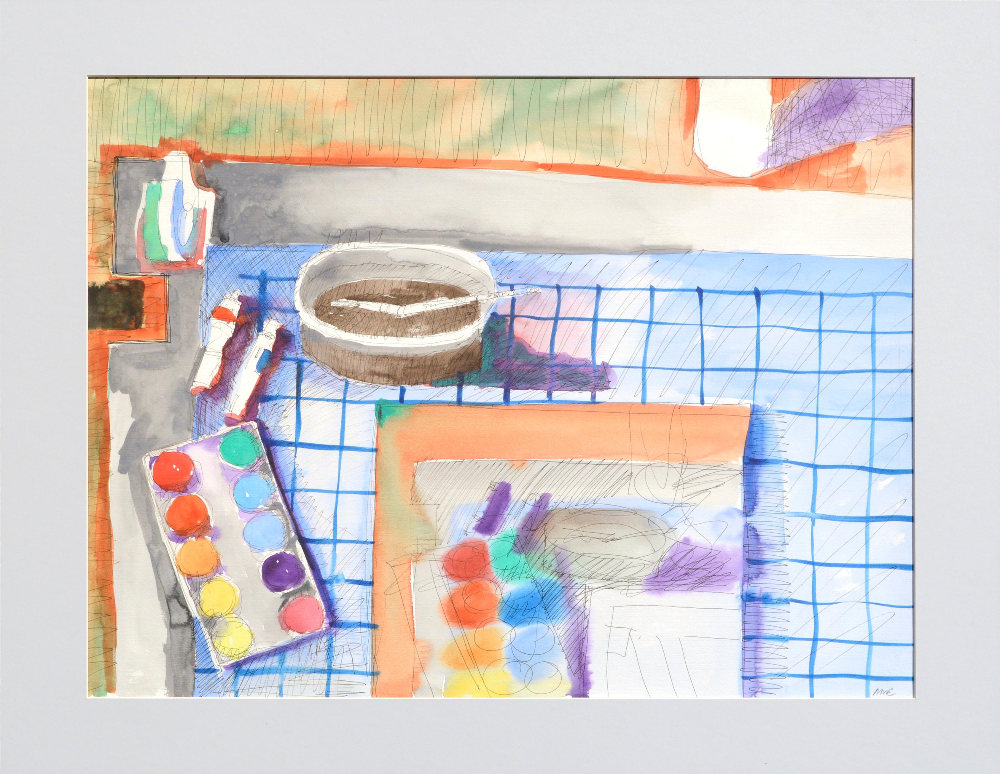 The Artist's Workstation - Still Life